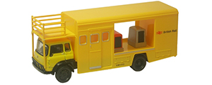 Oxford Diecast Bedford TK - British Rail Emergency Bridging Unit Open - 76TK012
