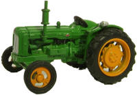 New Modellers Shop - Oxford Diecast - Green Fordson Tractor - 76TRAC002