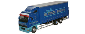 Oxford -Diecast Volvo FH Curtainside Lorry - David Bletsoe-Brown - 76VOL01CL