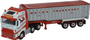 Oxford Diecast FH4  Tipper Wains Transport - 76VOL4004