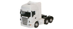 Oxford Diecast - White Scania Cab - 76WHSCACAB