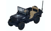 76WMB001 - Oxford Diecast Willys MB Royal Navy