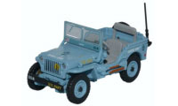 76WMB002 - Oxford Diecast Willys MB US Navy Seebees