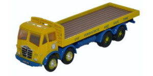 NFG007 - Oxford Diecast Foden FG8 Wheel Flatbed Blue Circle