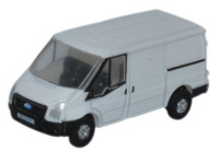NFT001 - Oxford Diecast Ford Transit SWB Low Roof White