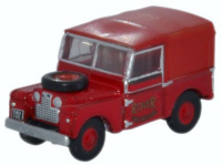 NLAN188010 - Oxford Diecast Land Rover Series 1 Rover Fire Brigade