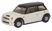NNMN002 - Oxford Diecast New Mini Pepper - White  (N-Gauge)
