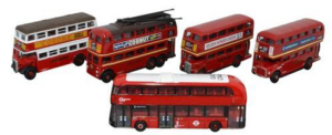 NSET004 - Oxford 5 Piece Bus Set London Transport