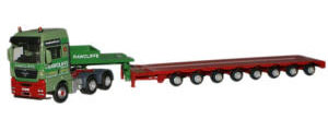 New Modellers Shop - Oxford Diecast Man J B Radcliffe Low Loader - MAN01LL