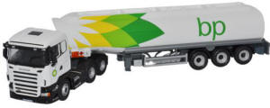 Oxford Diecast - Scania BP Tanker SHL01TK