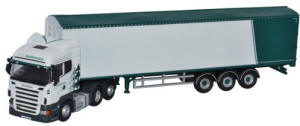 Oxford Diecast Scania Highline Walking Floor A W Jenkinson - SHL03WF