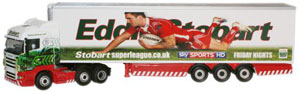 Oxford Diecast Scania Highline Stobart Super League - Salford City Reds - SHL08FR