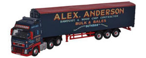 Oxford Diecast Volvo FH Walking Floor - Alex Anderson - VOL01WF