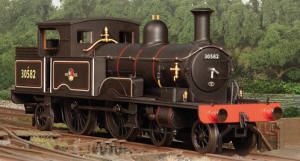 Oxford Rail BR Late 4-4-2T Adams Radial 415 Class (30582) - OR76AR004