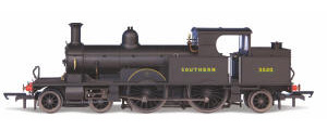 Oxford Rail Southern Black with Sunshine Lettering 4-4-2T Adams Radial 415 Class (3520) - OR76AR007