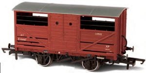 Oxford Rail - BR Cattle Wagon - OR76CAT001