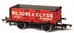 Oxford Rail Wilsons & Clyde 4 Plank Wagon - OR76MW4003