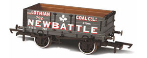 Oxford Rail - Lothian Coal Co No 792 - 4 Plank Wagon - OR76MW4005