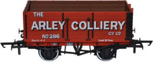 Oxford Rail - 7 Plank Mineral Wagon Arley Colliery No.286 - OR76MW7006