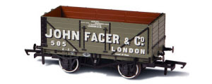 Oxford Rail - 7 Plank Mineral Wagon John Facer, London - OR76MW7010