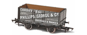 Oxford Rail - George & Co 251 - 7 Plank Mineral Wagon - OR76MW7019