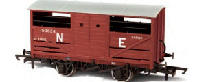 Oxford Rail - LNER Cattle Wagon - OR76CAT002 | OR76CAT002B