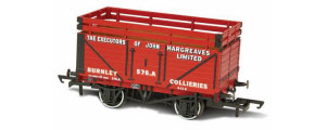OR76CK7003 - Oxford Rail -  Exec Of John Hargreaves - 7 Plank Coke Wagon