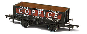 OR76MW5003 - Oxford Rail - Coppice - Cannock Chase No.369 - 5 Plank Mineral Wagon