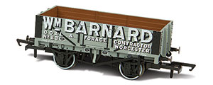OR76MW5004 - Oxford Rail - WM Barnard - Worcester No.23 - 5 Plank Mineral Wagon