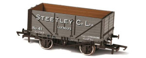 Oxford Rail - Steetley and Co Llynclys - 7 Plank Mineral Wagon - OR76MW7024