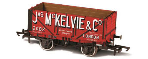 Oxford Rail - Jas McKelvie London No.2082 - 7 Plank Mineral Wagon - OR76MW7026