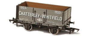 Oxford Rail - Chatterley - Whitfield Tunstall No.1933 - 7 Plank Mineral Wagon - OR76MW7028