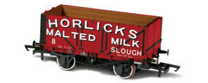 OR76MW7032 - Horlicks Malted Milk Slough No.8 - 7 Plank Mineral Wagon