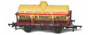 OR76TK2004 - Oxford Rail - Benzol And By Products No1000 12 Ton Tank Wagon