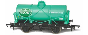 OR76TK2005 - Oxford Rail - Fisons Sulphuric Acid No31 12 Ton Tank Wagon