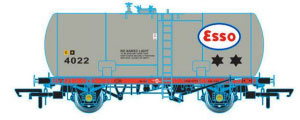 Oxford Rail Class A Tank ESSO 4022 Class A Original Suspension - OR76TKA003