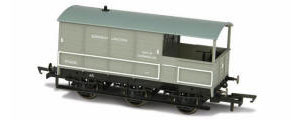 Oxford Rail - BR Toad Brake 6 Wheel Plated 'Bordesley Junction' - OR76TOA003