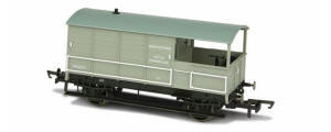 OR76TOB003 - Oxford Rail - Toad Brake Van BR Toad 4 Wheel Basingstoke 35717