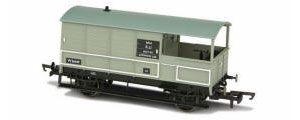 OR76TOB004 - Oxford Rail - Toad Brake Van BR Toad 4 Wheel Bala 56449