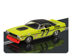 Scalextric Dodge Challenger T/A 1970 - Classic Wax, No.77 - C3419