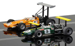 Scalextric Winged Legends Brabham BT26A & McLaren M7C - C3589A