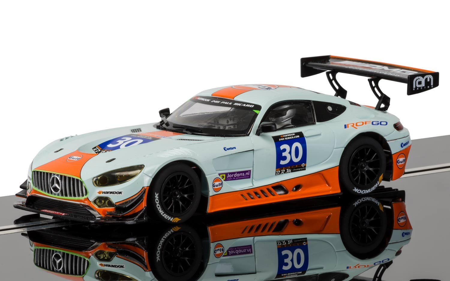Discontinued C3853 Scalextric Mercedes Amg Gt3 Gulf