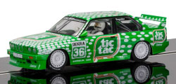 C3865 - Scalextric BMW M3 E30 - Sport Evolution Team Tic Tac