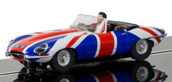 C3878 - Scalextric Jaguar E-Type Union Jack