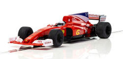 Scalextric 2017 Formula One Car - Red - C3958