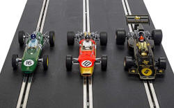 C4184A - Scalextric The Genius Of Colin Chapman - Lotus F1 Triple Pack