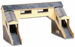Superquick Model Card Kits - A9 Covered Footbridge
