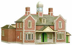 Superquick Model Card Kits - A10 Railway Terminus Building