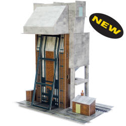 Superquick Model Card Kits - A12 Coaling Tower