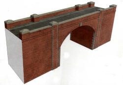A14 - Superquick Kits - Red Brick Bridge / Tunnel Entrance